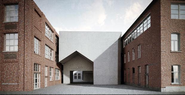 La nuova facolt di architettura in belgio firmata dai mateus for Architettura di casa online
