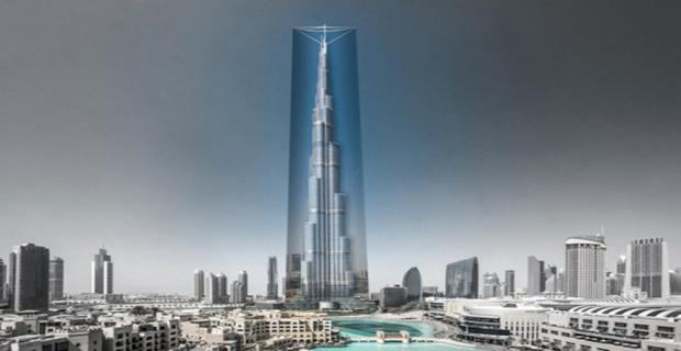 Un maglione traspirante sul grattacielo pi alto del mondo - Dubai grattacielo piu alto ...