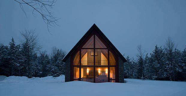 Hudson passive project una casa passiva tra antico e moderno for Hudson house