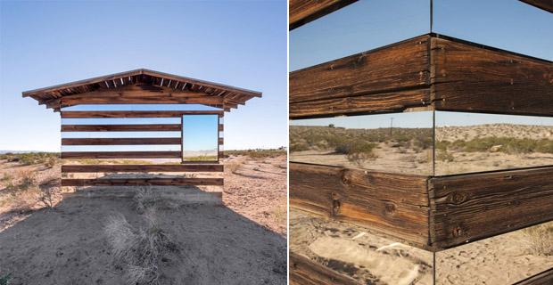 Illusioni ottiche in architettura la casa che sembra - Finestre a specchio ...