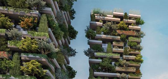 Il bosco verticale di milano il progetto sostenibile di boeri for Giardini verticali milano