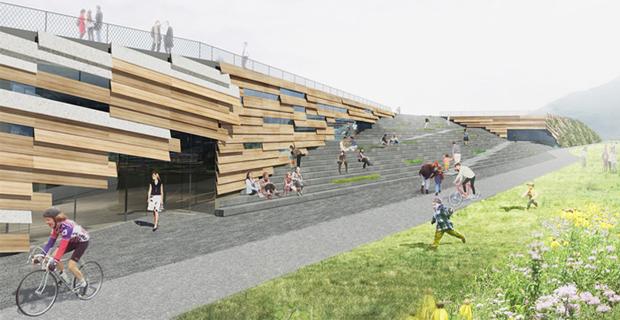 Un masterplan sostenibile per la ex manifattura tabacchi for Master architettura
