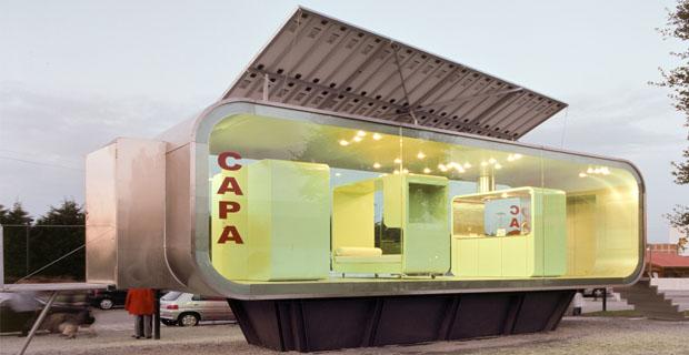 La versatilit dei moduli prefabbricati sostenibili abitazioni uffici o bar - Moduli bagno prefabbricati ...