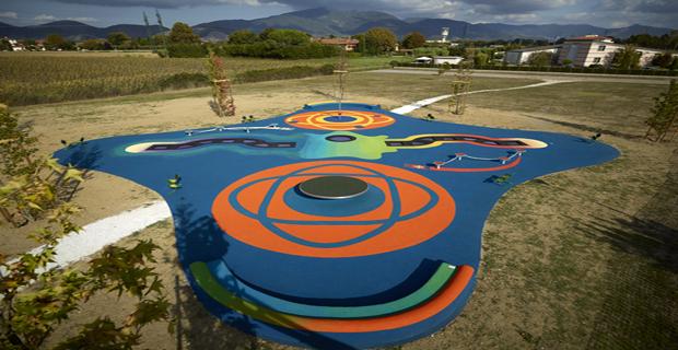 Favorito Il parco dei salti. Palestra all'aperto per bambini sostenibile e  XJ45