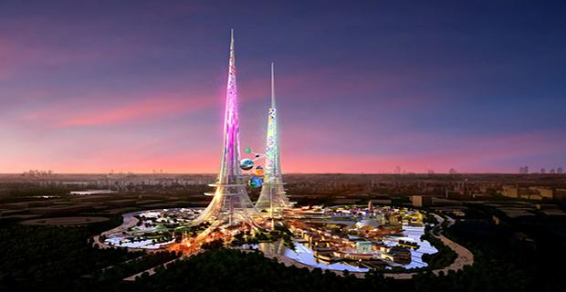Phoenix towers i grattacieli gemelli pi alti al mondo for Caldaie domestiche a idrogeno