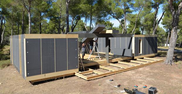 Pop up house la casa passiva fai da te pronta in 4 giorni for Come ottenere un prestito di costruzione per costruire una casa