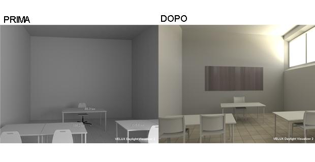 Come progettare l 39 illuminazione naturale negli ambienti for Software architettura interni