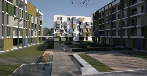 Progetto zoia l abitare sociale a milano for Progetti di costruzione famosi