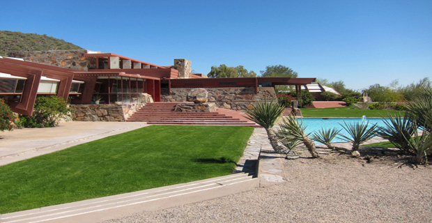 Giardino Taliesin West, Frank Lloyd Wright