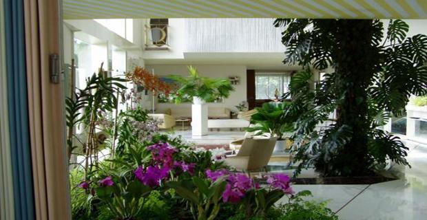 Rapporto casa giardino armonia dell 39 abitare for Piani di casa con giardino interno