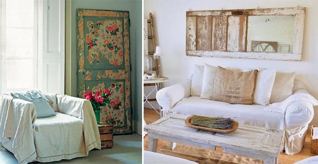 Idee Per Arredo Cucina Soggiorno : Idee per riciclare vecchie porte e ...