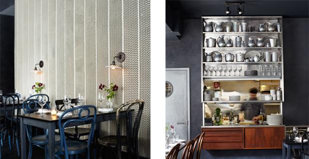 Tra design creativo e riciclo l insospettabile locale for Arredamento in legno per ristorante