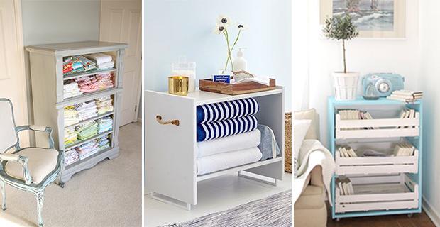 5 idee low cost per rinnovare vecchie cassettiere for Rinnovare casa low cost