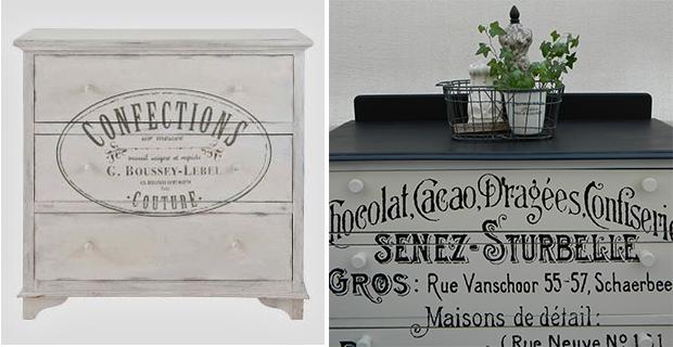 5 idee low cost per rinnovare vecchie cassettiere - Carta per coprire mobili ...