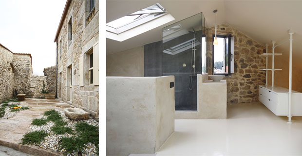 Ristrutturare una casa in pietra senza tradire la storia - Piastrellare un terrazzo ...