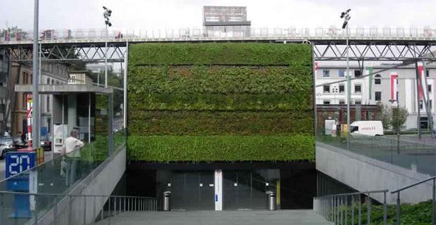 Rinverdire gli edifici per riqualificare interi quartieri - Moduli per giardino verticale ...