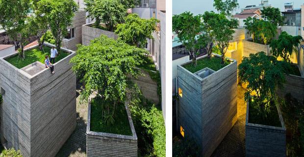 Le case con i tetti verdi che proteggono dalle alluvioni for Che disegna progetti per le case