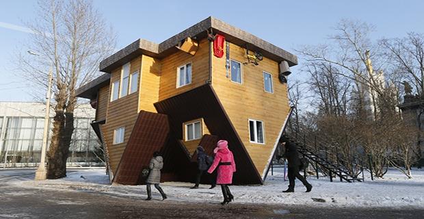 Case sottosopra abitazioni da far girare la testa for Case particolari nel mondo
