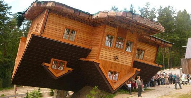 Case sottosopra abitazioni da far girare la testa for Immagini case