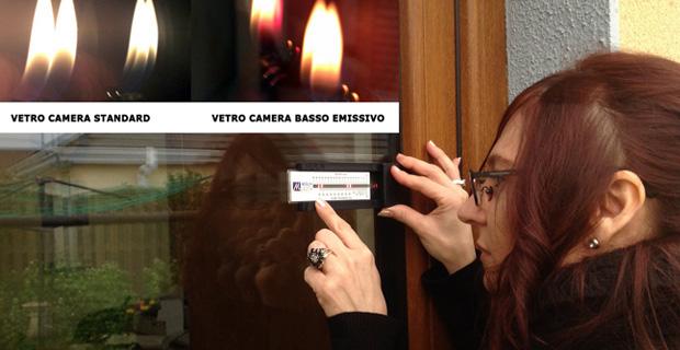 Come verificare se una lastra di vetro basso emissiva - Vetrocamera basso emissivo ...