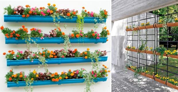 Giardini sospesi idee originali per arredare con il verde