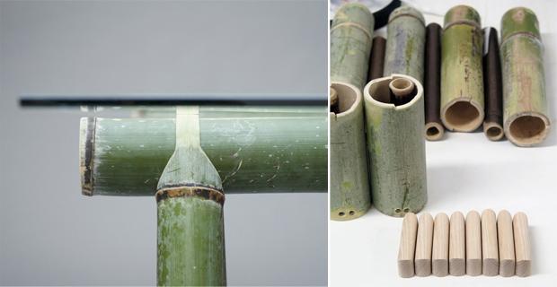 Arredi tradizionali in bambù reinterpretati da Stefan Diez