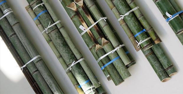 Arredi tradizionali in bamb reinterpretati da stefan diez for Bambu vendita on line