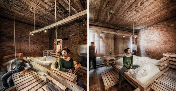 Camere viennesi: l\'ospitalità minimale