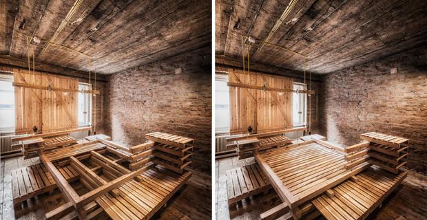Camere viennesi: l'ospitalità minimale