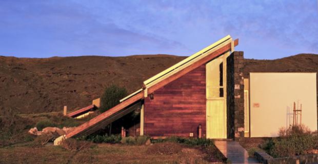 La casa bioclimatica che guarda l oceano - Casa esposta a ovest ...
