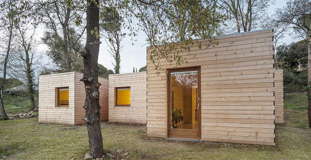 Progetti di case prefabbricate in legno for Abitazioni ecosostenibili