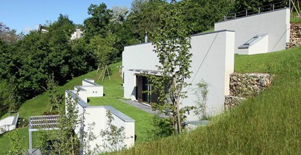 Casa semi ipogea a marostica for Architettura moderna della casa