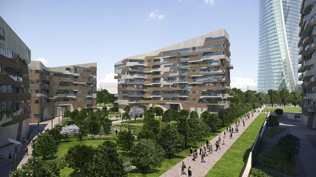 City life hadid libeskind e isozaki per un quartiere di for I nuovi grattacieli di milano