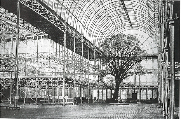 Il Crystal Palace all'Expo di Londra