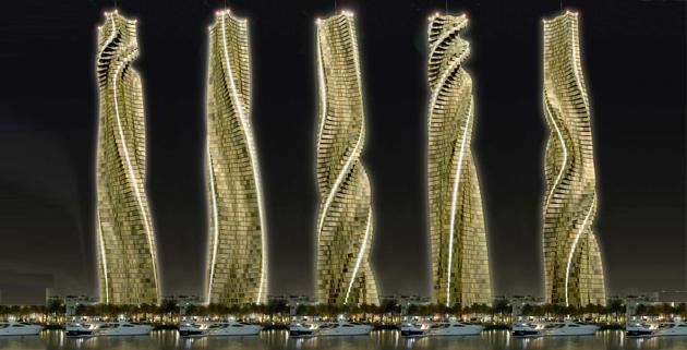 Da Vinci Tower: la torre dinamica di Dubai