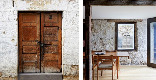 Un vecchio fienile ristrutturato diventa la casa di una for Case ristrutturate interni