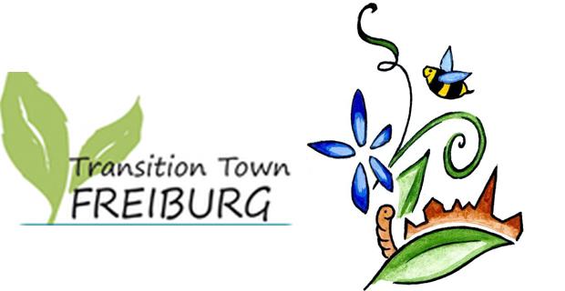 caption: logo del movimento TT Freiburg e del gruppo Urbanes Gärtnern foto da www.ttfreiburg.de
