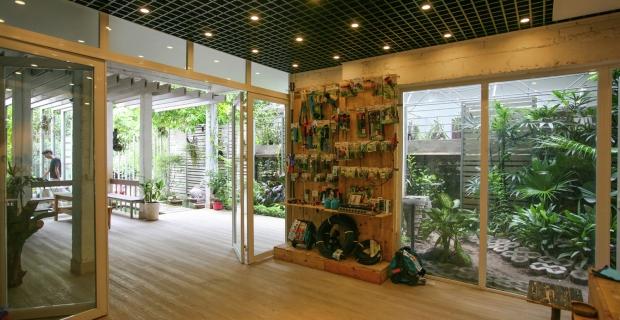 lo spazio incompiuto diventa ufficio green nuove On ufficio green