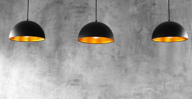 Tendenze per lilluminazione della cucina: le lampade sospese