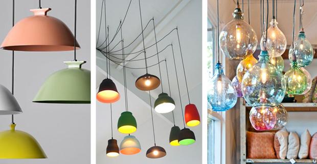 Tendenze per l illuminazione della cucina le lampade sospese