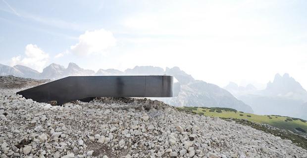 Il lookout delle Dolomiti ed il piano per 20 terrazze panoramiche
