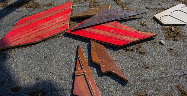 caption: La lavorazione del legno
