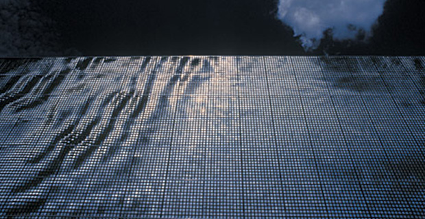 caption: Wind Façade, Technorama Science Center, Winterthur, Switzerland, 2002. Foto: Technorama