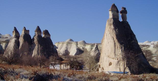 caption: Camini delle fate, Cappadocia, Turchia