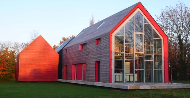 caption: Sliding House, dRMM Ross Russel, Suffolk, 2009