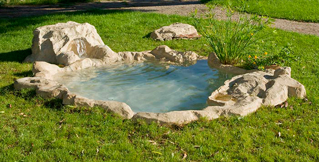 5 soluzioni creative per sfruttare al meglio il giardino for Laghetti artificiali per giardino
