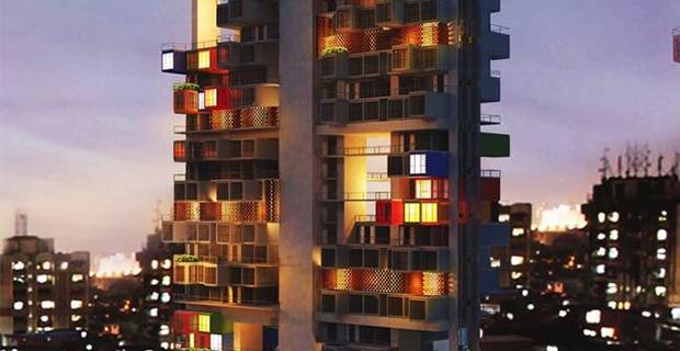 Skyscrapers: nuova vita ai vecchi container