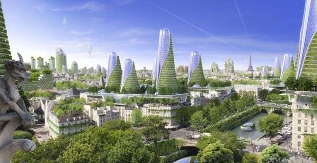 8 torri futuristiche a parigi il progetto di vincent for Eco architettura