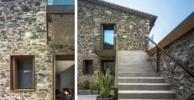 Il recupero di una vecchia casa colonica catalana villa for Progetti di piani casa fienile
