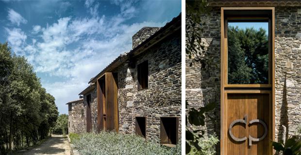 Il recupero di una vecchia casa colonica catalana villa for Casa colonica coloniale